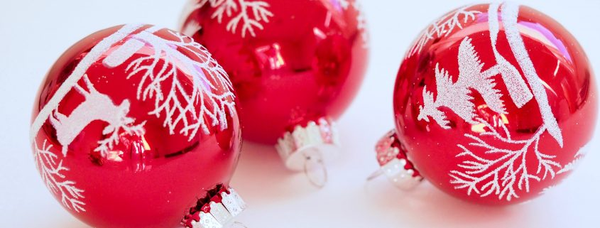 red ornaments Endow Iowa Tax Credit