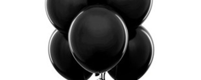 final resting place black balloons