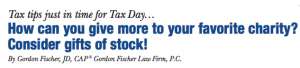 Tax tips just in time for Tax Day