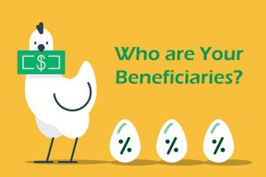Chicken with eggs- beneficiaries