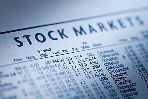Stock market sheet