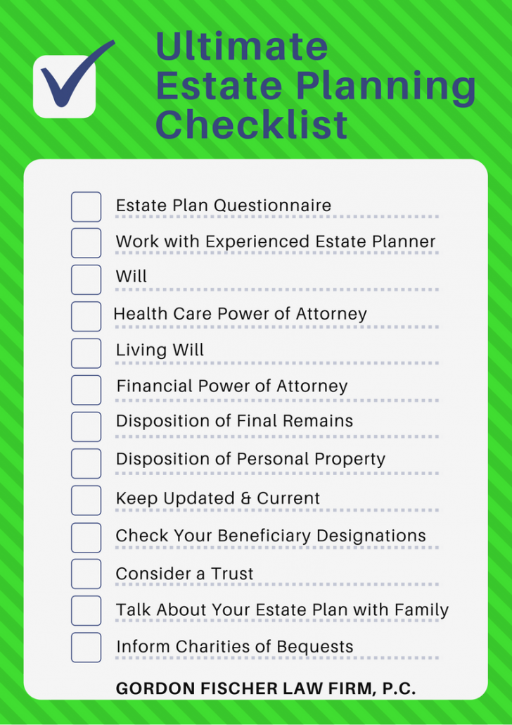 Ultimate Estate Planning Checklist