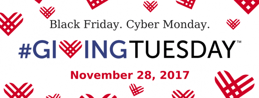 #GivingTuesday Nov. 28