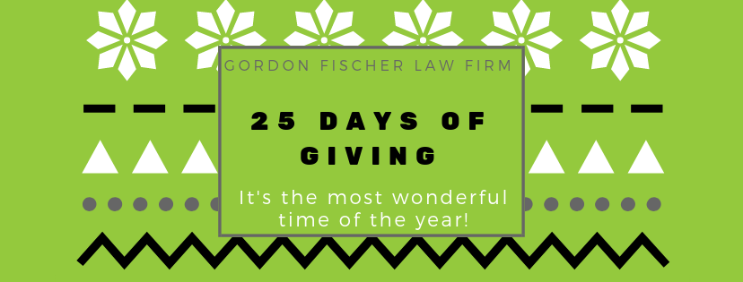 25 days of giving - decemer 2018