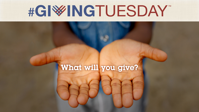 #GivingTuesday What Will You Give?