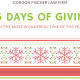 25 days of Christmas - Holiday giving