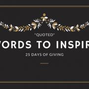 christmas words giving