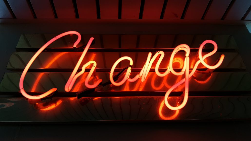 change neon light