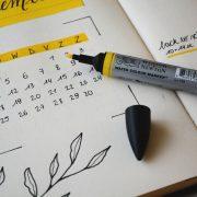 monthly calendar highlighter