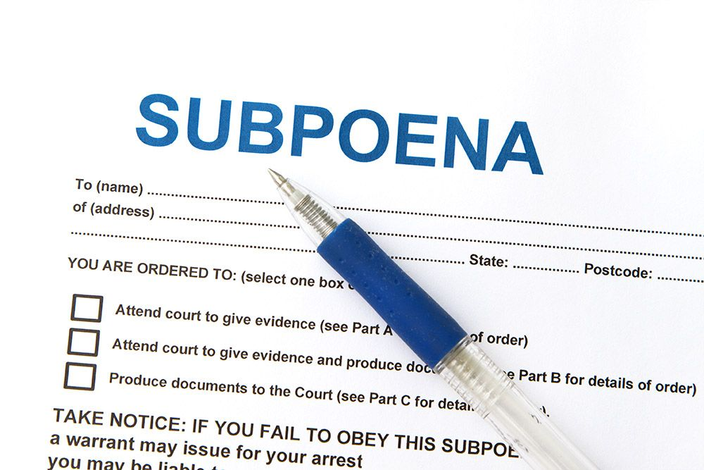legal word of the day brought to you by sam nunberg subpoena