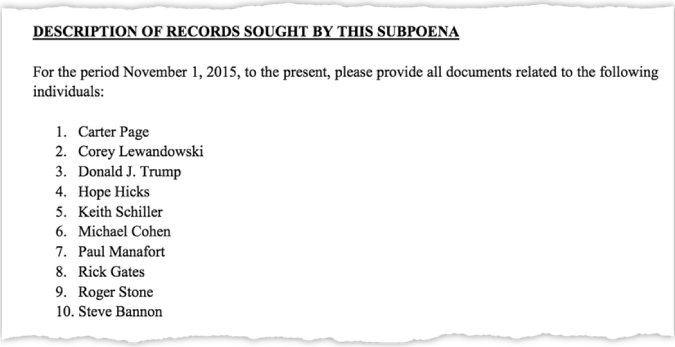 subpoena nunberg