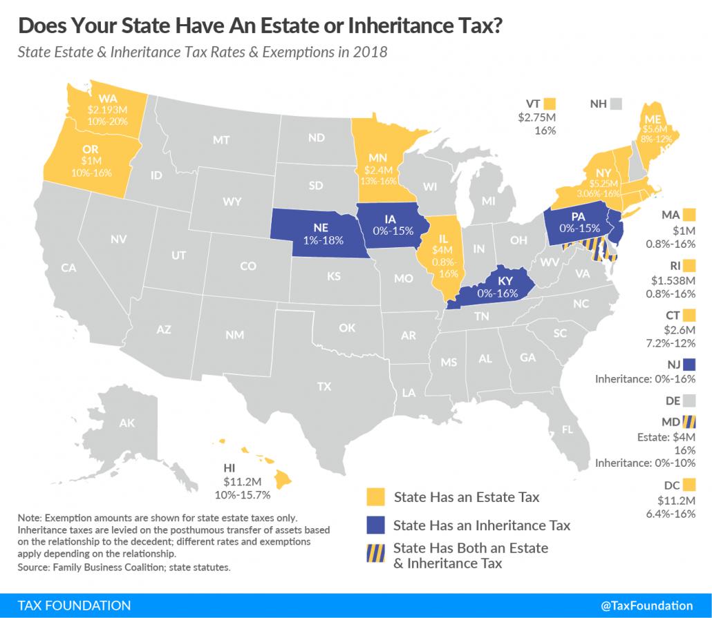 estate tax map