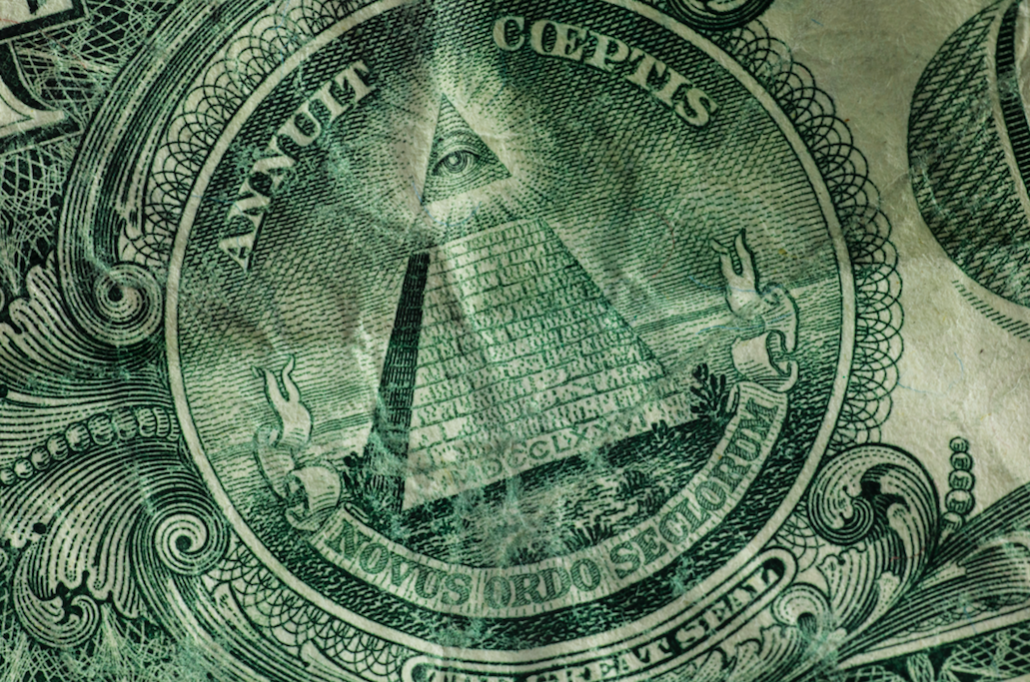 pyramid on a US bill