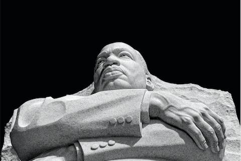 MLK Jr Statue