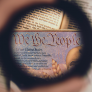 We the people close up