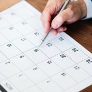 events on calendar