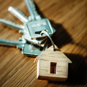 real estate keys to house