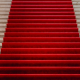 red carpet up stairs