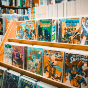 super hero comic book