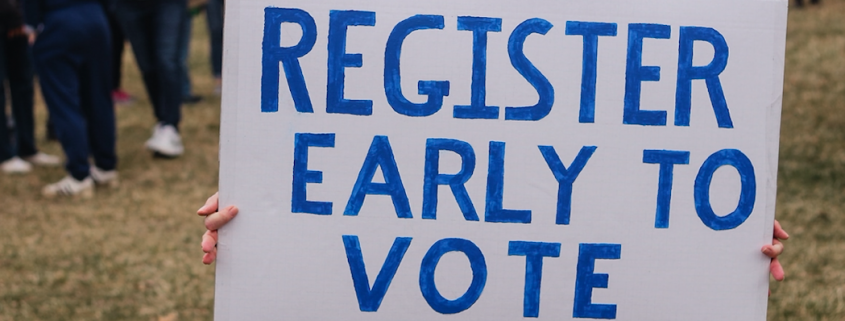 register to vote early