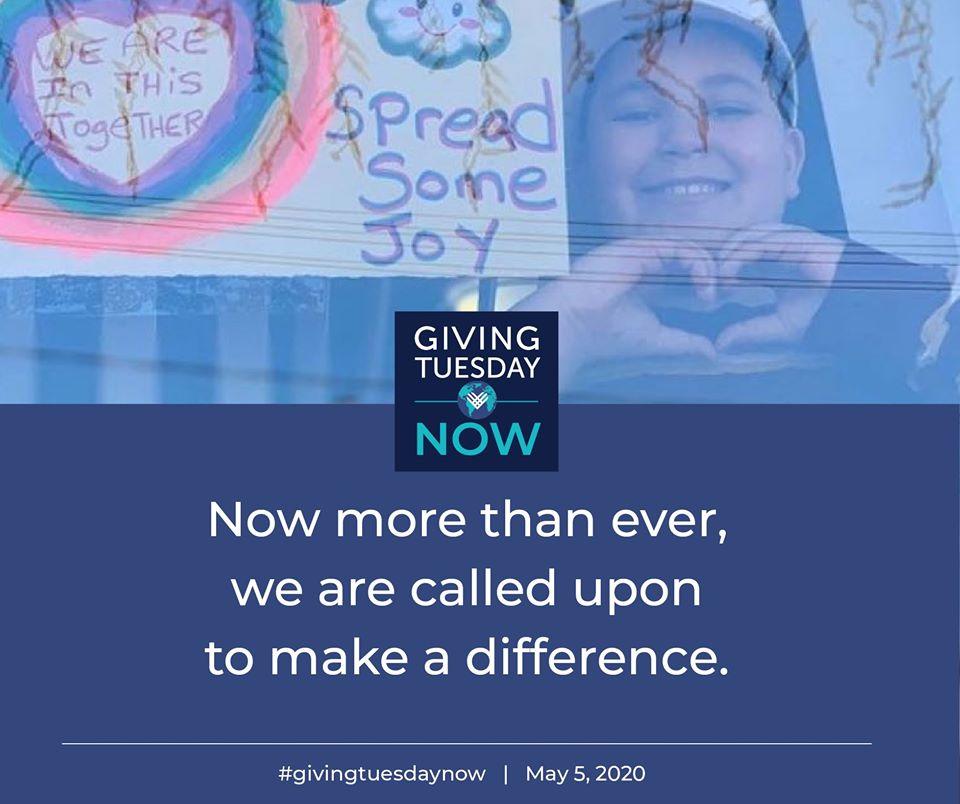 #GivingTuesdayNow imgate